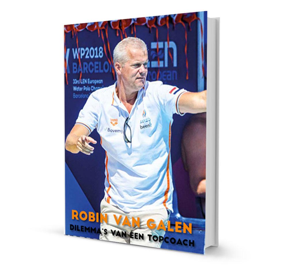 Robin van Galen schreef de boeken: Mijn Olympische missie en Dillema's van een topcoach.
